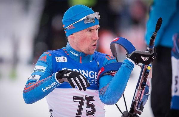 04.02.2016, Canmore, Canada (CAN): Alexey Slepov (RUS) - IBU world cup biathlon, sprint men, Canmore (CAN). www.nordicfocus.com. © Manzoni/NordicFocus. Every downloaded picture is fee-liable.